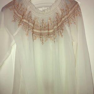 Cute thin blouse